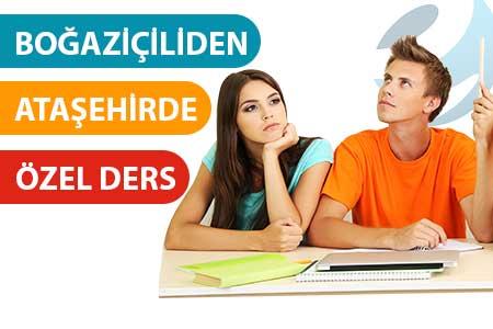 Ataşehir'de Boğaziçili öğretmenden özel ders
