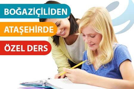 Ataşehir'de özel ders verenler - öğretmenler - hocalar